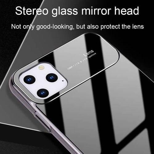 Luxury Smooth Mirror Effect Anti Scratch Lens Back Case For Apple iPhone 11 Pro Max
