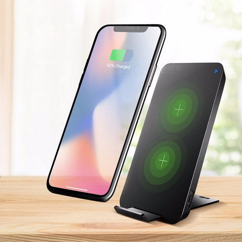 Universal Ultra Slim & Portable 5V 2A Fast Qi Wireless Charger for iPhone X, 8/8Plus, S8/S8 Plus, Note 8