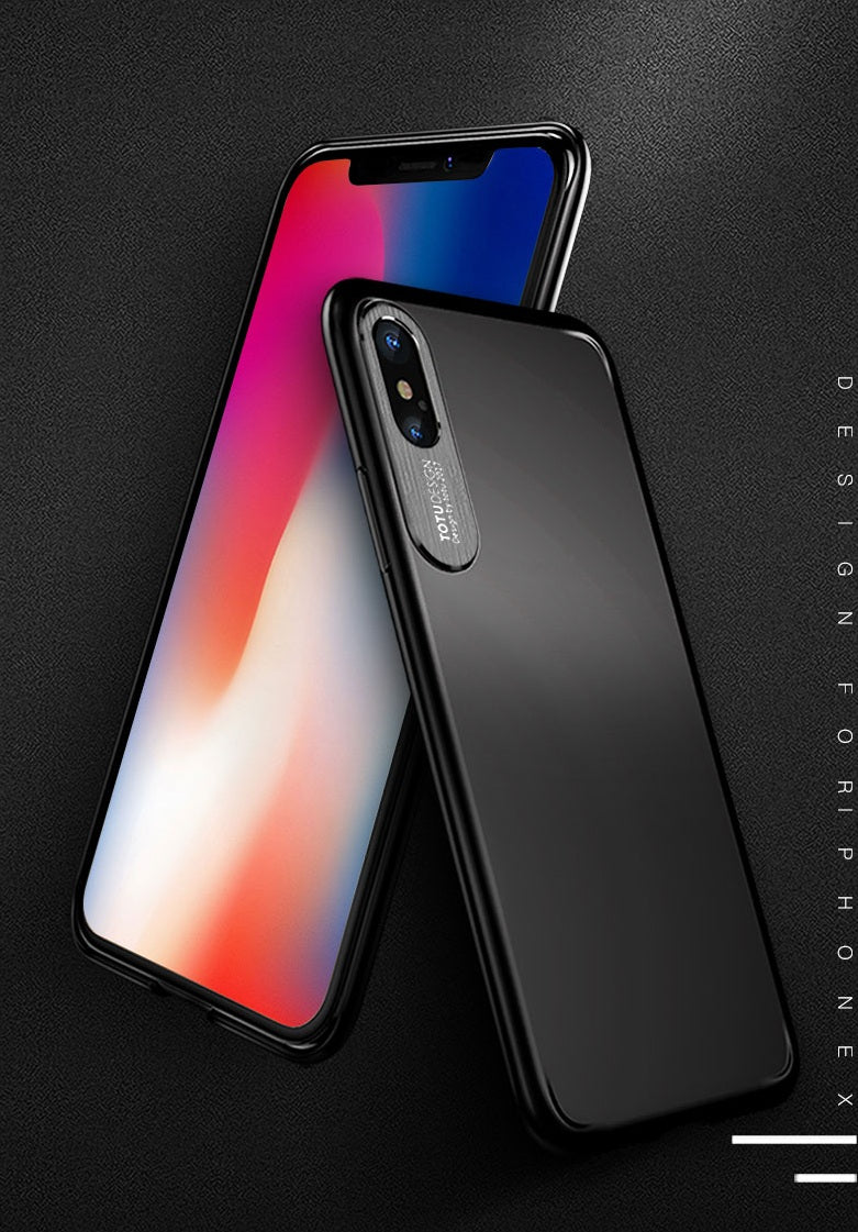 Premium Camera Protect PC Back Case Cover For iPhone X / XS 2018