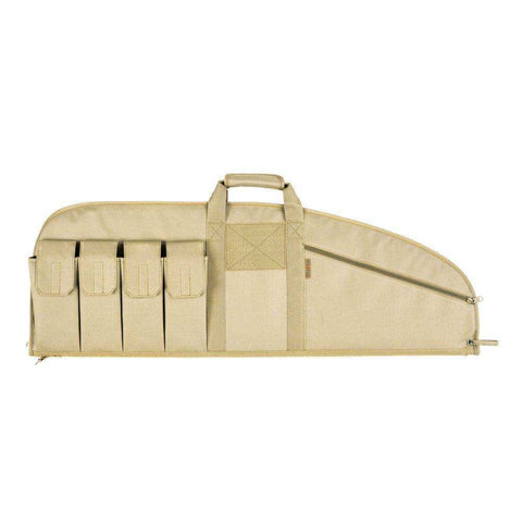 ALLEN COMBAT TACTICAL RIFLE CASE, TAN 42""