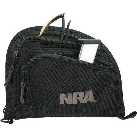 Allen NRA 2-Pocket 9″ AUTO-FIT Handgun Case