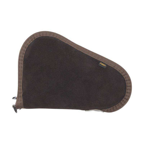 "Allen Suede Handgun Case 8"", Brown/Mocha"