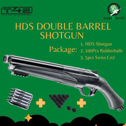 T4E HDS 68 Double Barrel Shotgun - Package