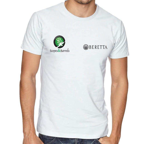 Beretta S&B Men's T-Shirt (White)