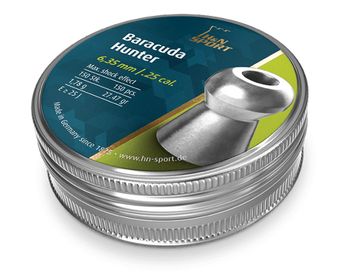 H&N Baracuda Hunter .25 Cal, (27.47 gr) Pellets