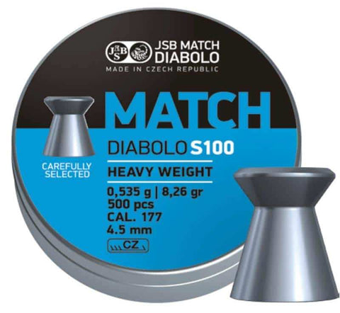 JSB Blue Match Diabolo S100