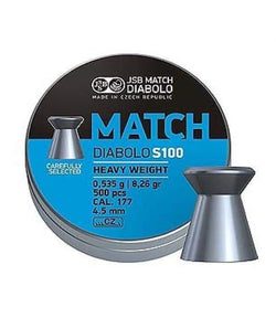JSB Match Diabolo S100 Heavy Weight 4.5mm