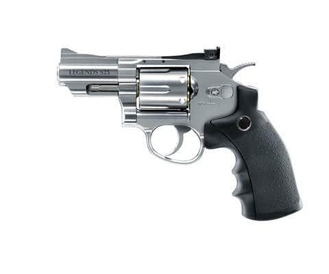 "Legends S25 , 2.5"" Silver Co2 Airpistol By Umarex"