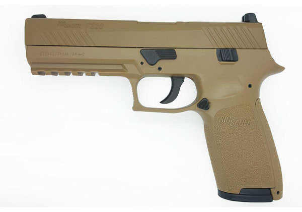 Sig Sauer P320 Coyote Co2 Airpistol .177 Cal