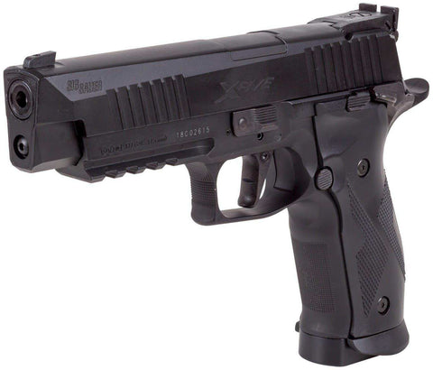 Sig Sauer X-Five ASP CO2 Blowback Black Pellet Pistol .177 Cal