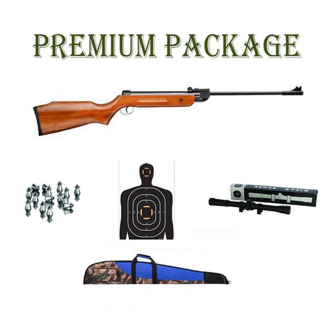 Snow Peak Airgun Mod. B1-4 (.22 Cal.) Premium Package