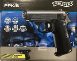 Walther PPK/S - Black Co2 Airpistol 4.5mm