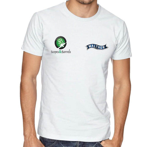 Walther S&B Men's T-Shirt (White)
