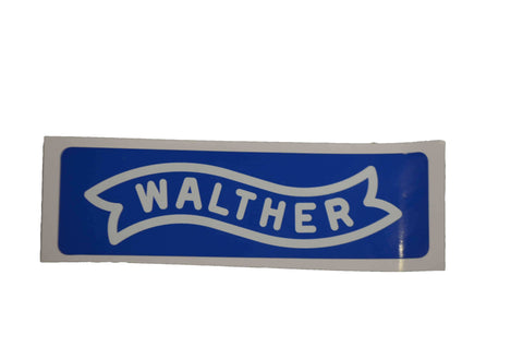 Walther Stickers Blue