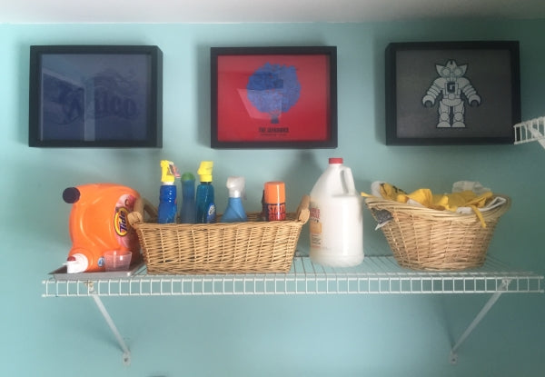 Shart T-Shirt Frames are great decoration for your laundry room