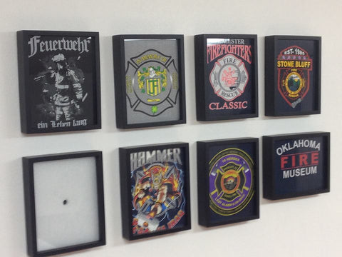 Stone Bluff Fire Department Framed Tee Shirts from the Granite Mountain Hotshots and the Oklahoma Fire Museum
