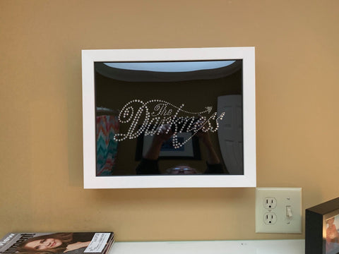 #TheDarkness Tee Shirt Framed and Displayed in Shart Original T-Shirt Display Frame