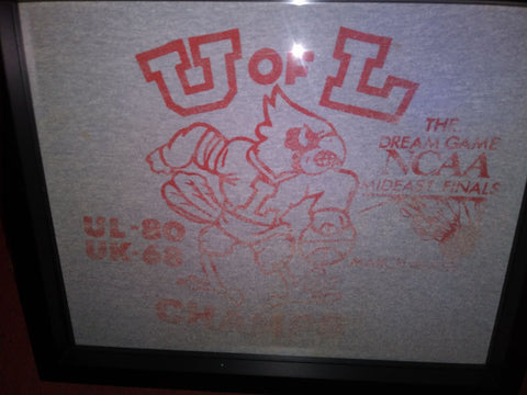 University of Louisville and University of Kentucky Dream Game Tee Shirt in a Shart Original T-Shirt Frame