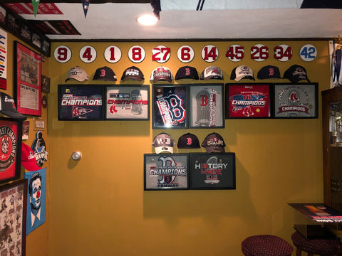 Boston Red Sox Framed Tee Shirt Collection #redsox #boston