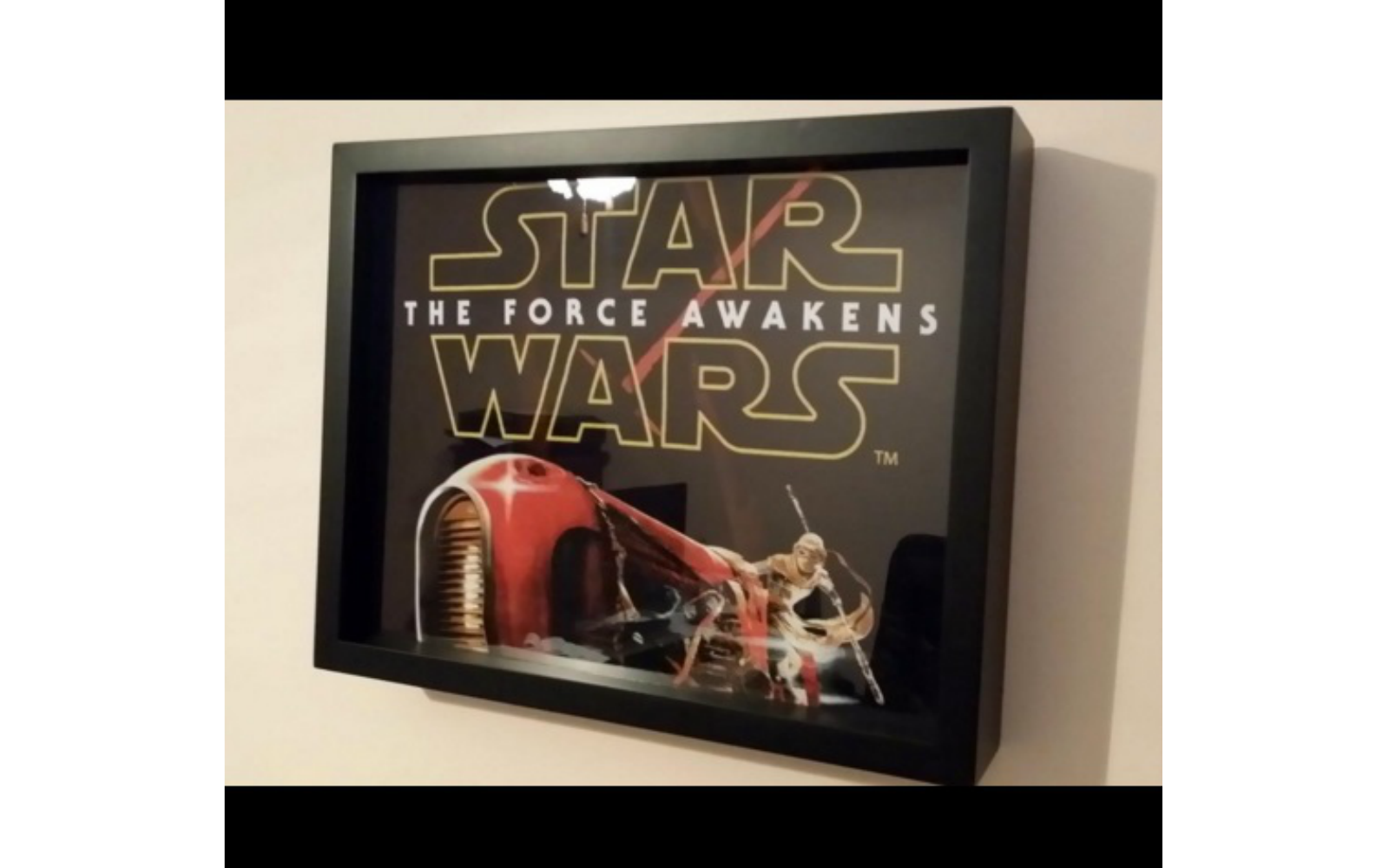 Star Wars T-Shirt in a Shart Tee Shirt Display Frame
