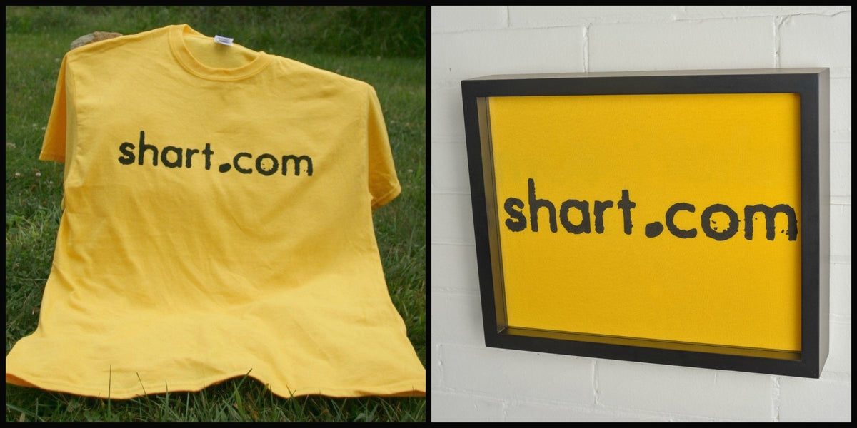 Shart Original T-Shirt Frame Display Case (Black) 11x14 - Shart.com