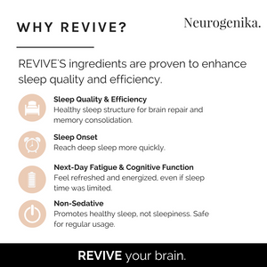 Revive - For Sleep Quality & Recovery