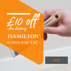 £10 Off Hamilton Decorating Products   P&D Show Exclusive offer