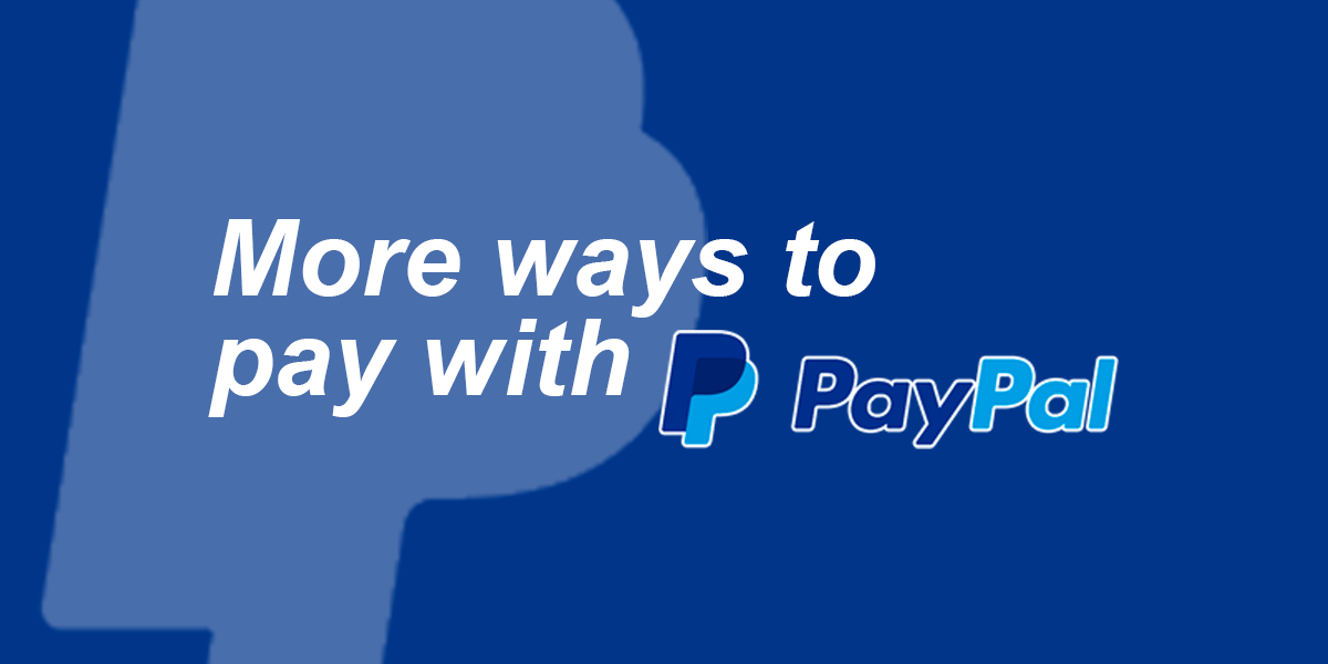 More ways to pay with PayPal | univarSC.com