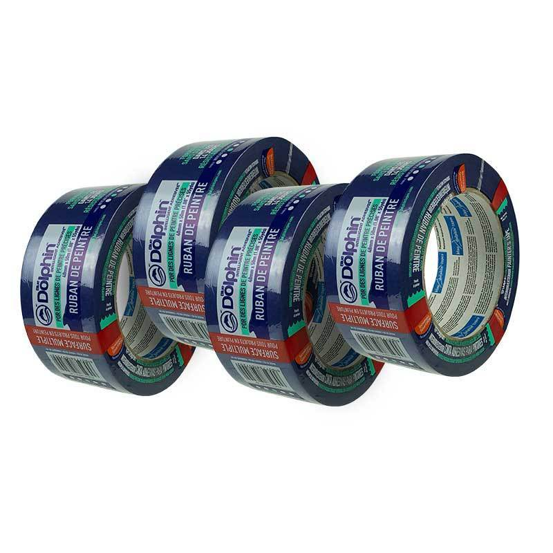 Blue Dolphin Masking Tapes Blue Dolphin Painters Masking Tape 48mm Trade Bundle (Pack of 4) 610996027