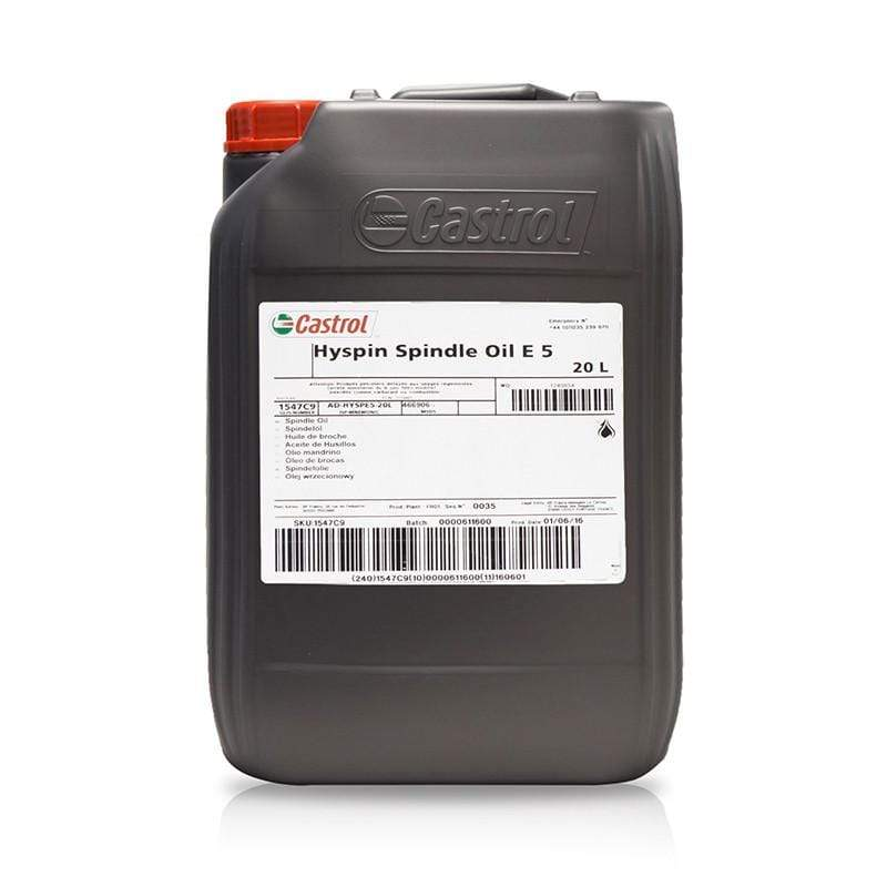 Castrol Hyspin Spindle Oil E 5 | Castrol | Spindle Oils | Univar Specialty Consumables