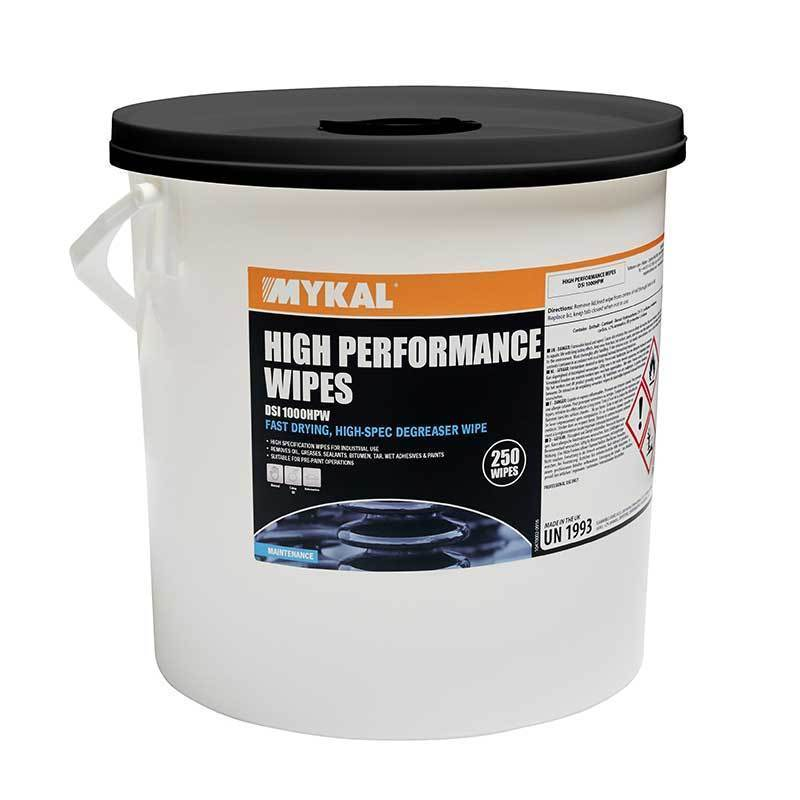 High Performance Wipes 250 wipes | Mykal | Cleaning Wipes | Univar Specialty Consumables