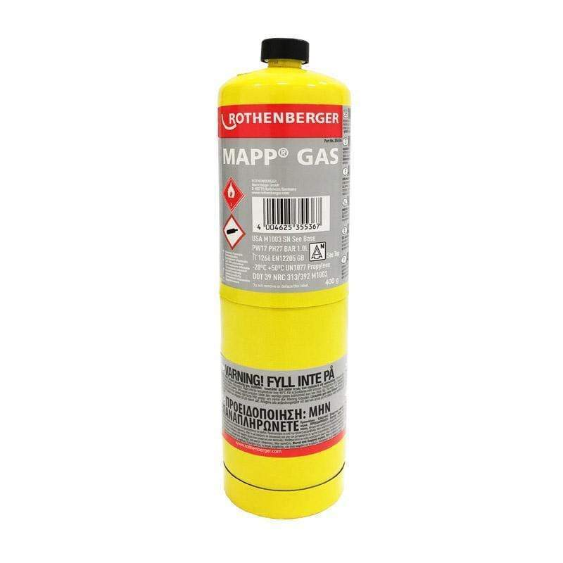 Rothenberger MAPP Gas Cylinder 399g | Rothenberger | Blow Torches | Univar Specialty Consumables
