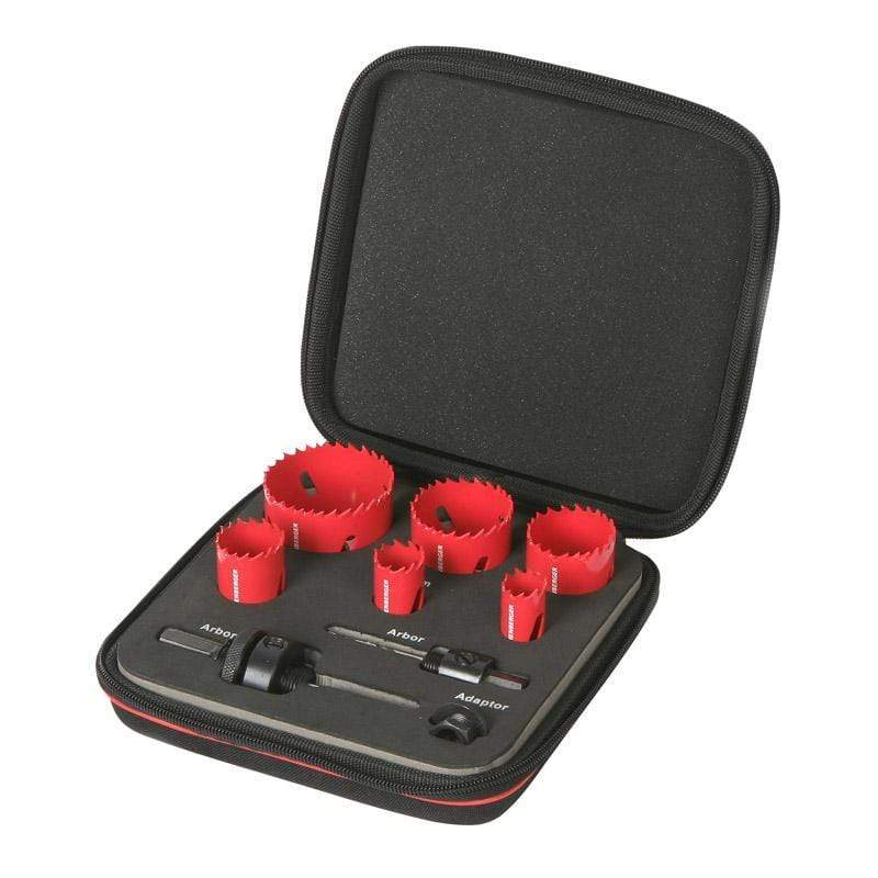 Rothenberger Drill Sets Rothenberger Plumbers Hole Saw Kit 610904116