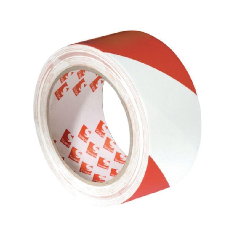 Scapa 2724 Hazard Warning Tape 50mm x 33m | Scapa | Floor Marking Tapes | Univar Specialty Consumables