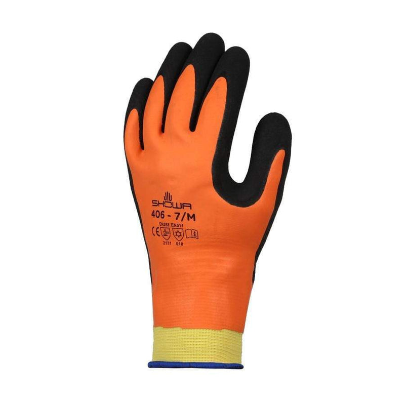 Globus Thermal Hazard Gloves Showa 406 Thermal Work Gloves 610430028