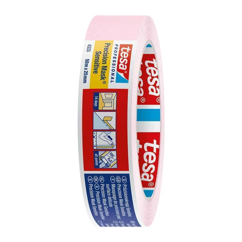 "tesa 1"" sensitive precision painters masking tape 