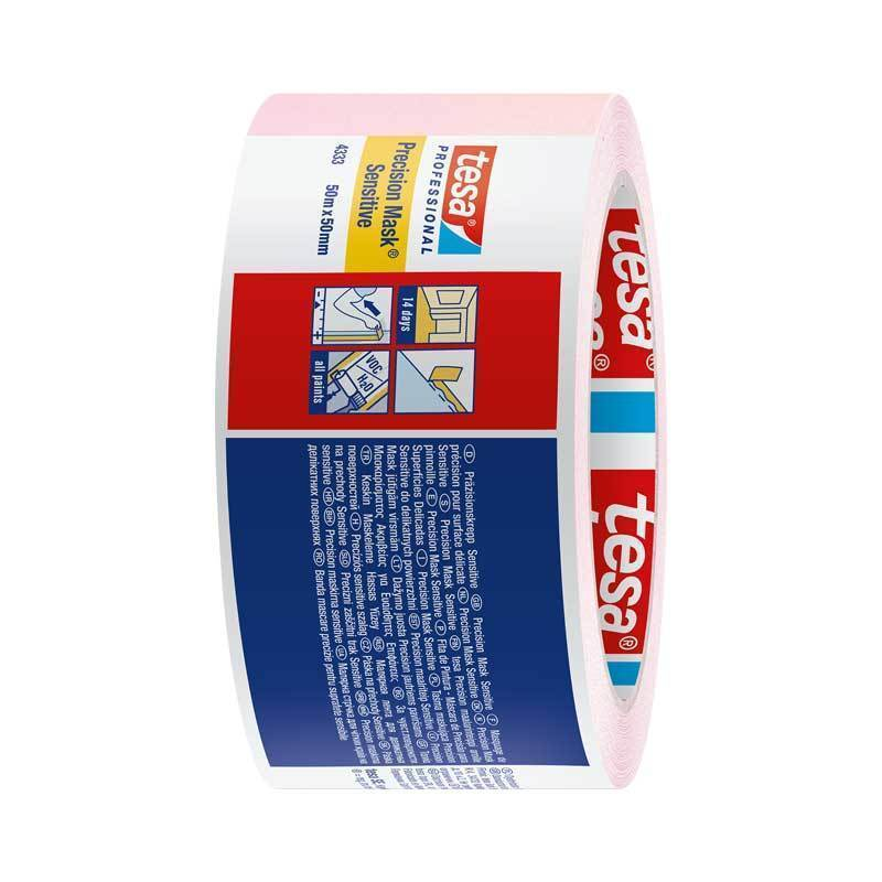 "tesa 2"" sensitive precision painters masking tape 