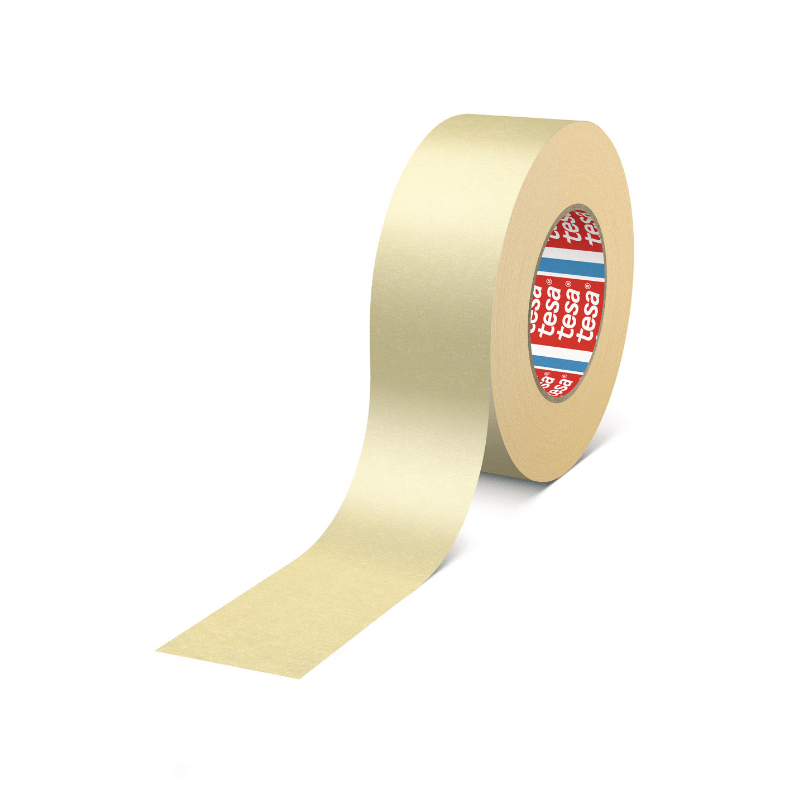 tesa 4324 Flexible Masking Tape 38mm x 50m Biege | Tesa | Masking Tapes | Univar Specialty Consumables