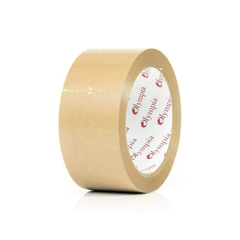 Olympia Packing Tapes Vinyl Packing Tape 62M100BRO 50 66