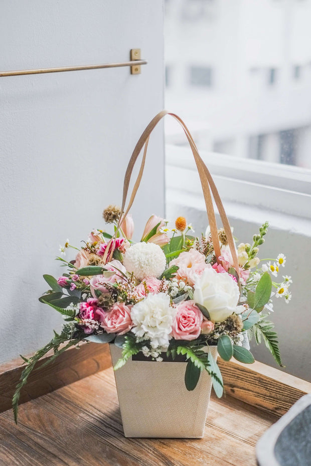 Pastel Flower Box | Flower Delivery Singapore