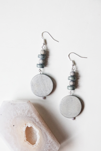 Alani 5 - Wooden Bead Earrings | by X