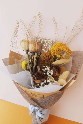 Dried Bouquet (ft. Banksia & Achillea Parker)