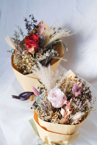 Ambrose in a Bouquet - Petite Preserved Flower Bouquet