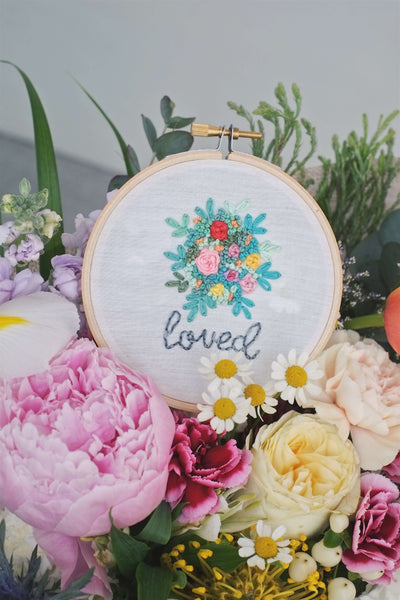 mother's day | embroidery hoops by allycraftsco - helloflowerssg