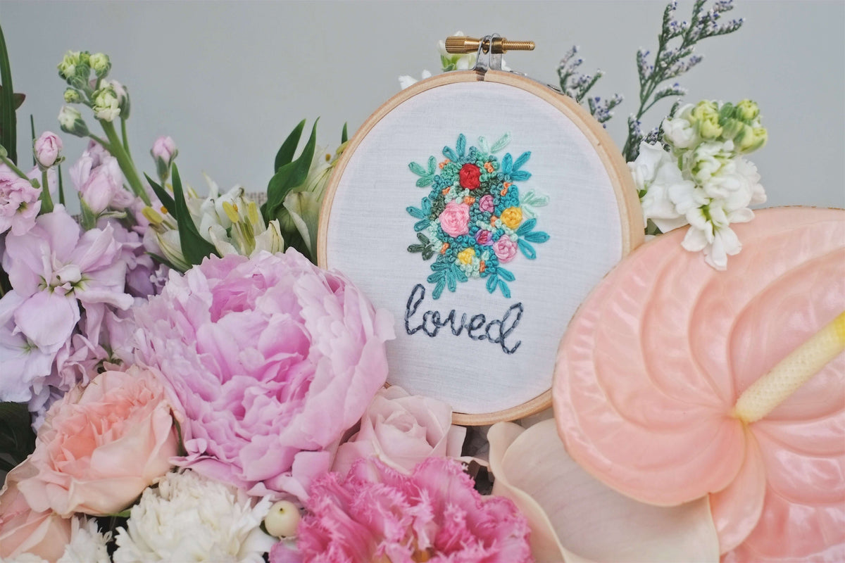 mother's day | embroidery hoops by allycraftsco - hello flowers!