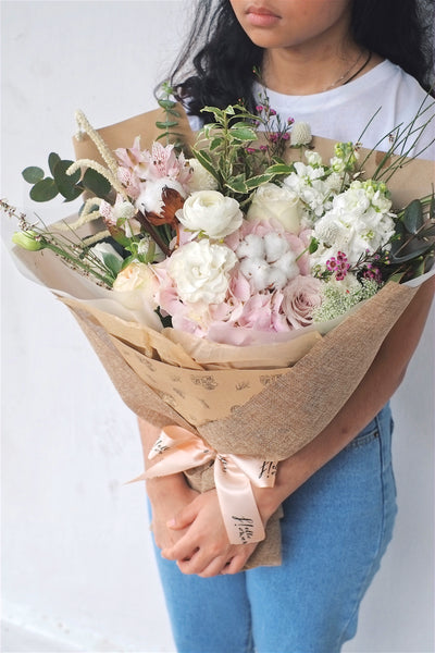valentine's | all of me (pink) - helloflowerssg