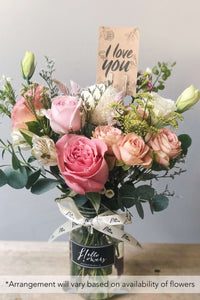 Petite Jar - Seasonal Subscription Flowers - helloflowerssg