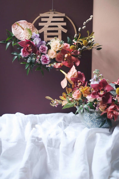 CNY 19 | 春到人间 🧧 Spring at your Door - helloflowerssg