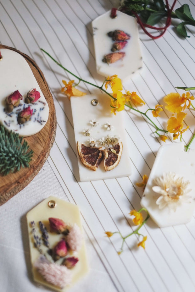 Hello Christmas! 18 | Scented Wax Tablets - hello flowers!
