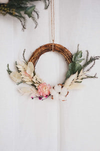 Hello Christmas! 18 | Mini Wreath - hello flowers!